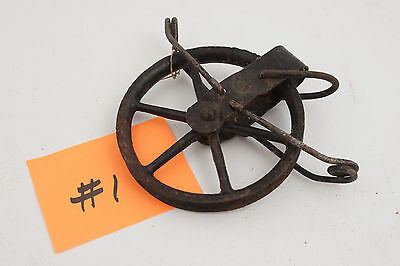 Laundry Line Pulley Wheel (E5R) Block Tackle Vintage Never Used Band Find