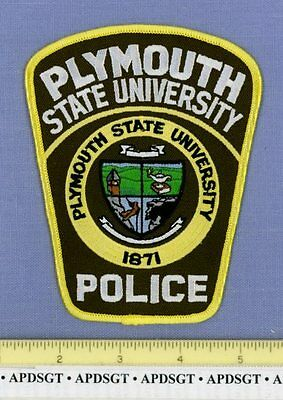 PLYMOUTH STATE UNIVERSITY NEW HAMPSHIRE NH College School Campus Police Patch