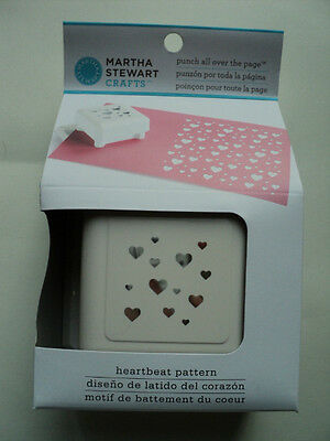 Martha Stewart Punch All Over The Page 'heartbeat Pattern' Bnip *look*