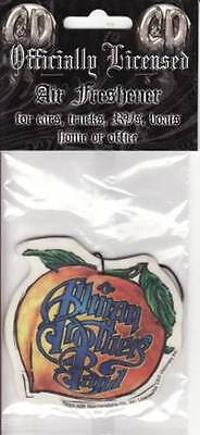 Allman Brothers Band - Air Freshener - Peach Logo - Licensed New In Pack