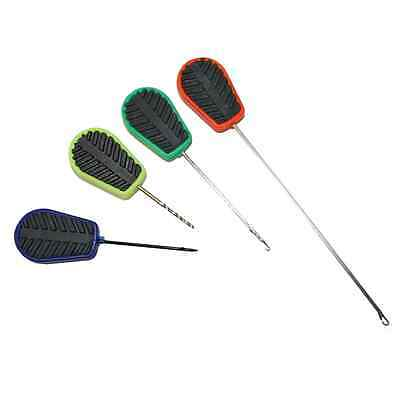 New NGT Coarse Carp Fishing Tackle 4 Piece Soft Grip Baiting Needles Tool Set