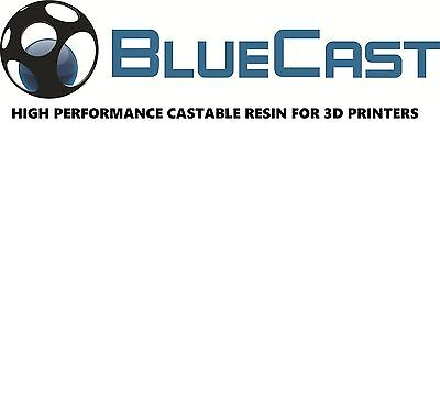 Resin for Formlabs Form1+ / Form2 - Calcinable - BlueCast Original - 0,5 kg