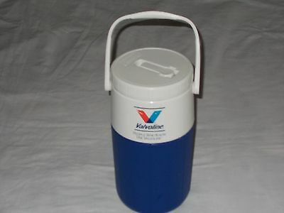 Coleman 5590 Valvoline Motor Oil Cooler Thermos 1/2 Gallon Flip Top Thermos Jug