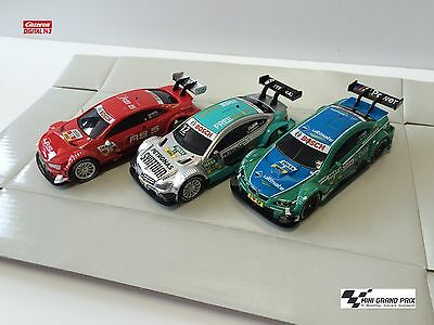 Carrera Digital 143 DTM Set: Mercedes C, BMW M3, Audi A5, 41390 + 41385 + 41386