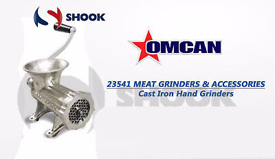 Omcan 23541 Table Top Manual Meat Grinder #12 Light Duty Commercial Restaurant