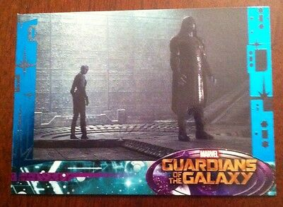 Guardians Of The Galaxy 2014 Movie Trading Card Sp Blue Foil  # 67