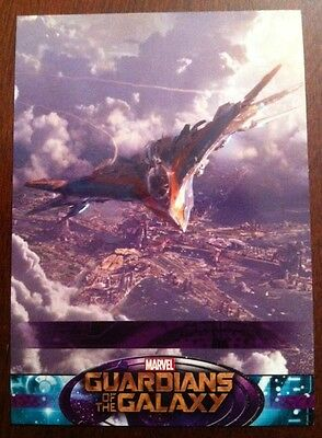 Guardians Of The Galaxy 2014 Movie Trading Card Sp The Milano  # 101