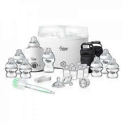Tommee Tippee Closer to Nature Essentials Starter Kit White NEW