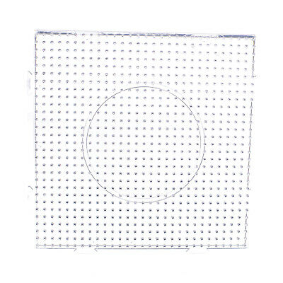 Large Square Clear Hexagon Kid's Perler Fuse Beads Pegboard
