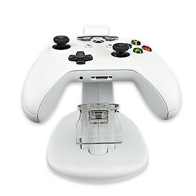 LED Light Dual Charging Dock Station Charger for Xbox One Slim Controller AC632