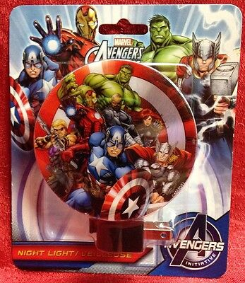 Marvel Avengers Night Light Thor Iron Man Captain America Hulk FREE SHIP #3