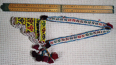 Beaded Pathan Womans Shoulder Holster