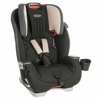 Graco Baby / Child / Kids Milestone Group 0+/1/2/3 Car Seat - Slate Grey