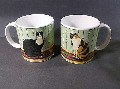 Warren Kimble Cat Collection mugs by Sakura