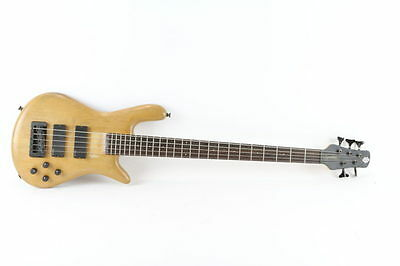 Spector Legend 5 Classic 5 String Electric Natural Finish Bass