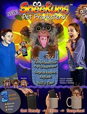 Sneekums Pet Pranksters, Get Ready, Hide & Surprise Fastest 2 Day Shipping