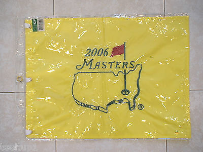 2006 Masters Golf Pin Flag Augusta National Phil Mickelson Pga New