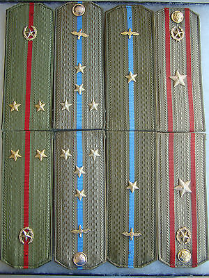 Ussr Cccp Soviet Army Air Force Mvd Shoulder Board Lot A Below Cost Give-A-Way!