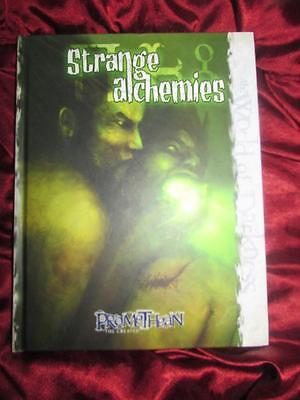 STRANGE ALCHEMIES - PROMETHEAN THE CREATED. New World of Darkness RPG