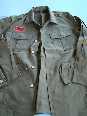 Ussr Cccp Soviet Russian Army Officers Summer Observer Set Below Cost Give-A-Way
