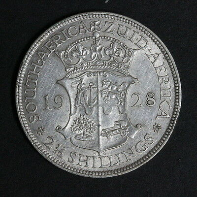South Africa  2 1/2 Shillings  Silver 1928  (322/2881D105)
