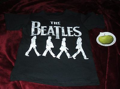 NEW The Beatles Shirt Abbey Road Child 3T Toddler NWT Apple Official Licensed