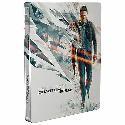 Quantum Break Steelbook Case (ONLY) for Xbox One & PC NEW