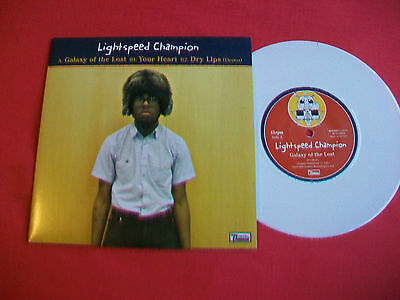 """Lightspeed Champion - Galaxy Of The Lost - 7"""" Single White Vinyl - Excellent"""