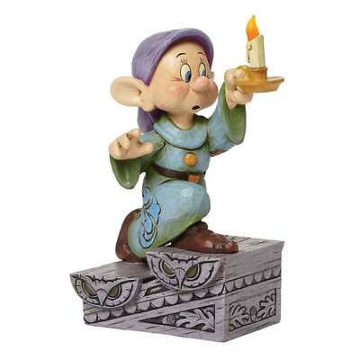 Disney Traditions A Light In The Dark Dopey with Candle Figurine New 4043642