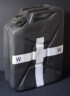 Genuine 1941 Field Grey Wwii Ww2 German 20L Water Wasser Container Jerry Can