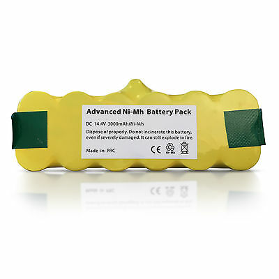 NEW RECHARGEABLE BATTERY FOR iROBOT Roomba 582, 585, 595, 600, 610 VACUUM HOOVER