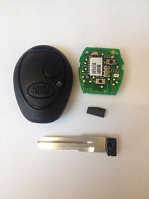 Land Rover Discovery 2 TD5 Key case and New Case + New Chip