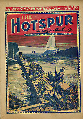 HOTSPUR COMIC No. 443 from 1942 - D. C. Thomson