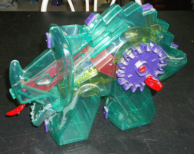 Plastic Triceratops Dinosaur Mechanical Bank (works with some help)
