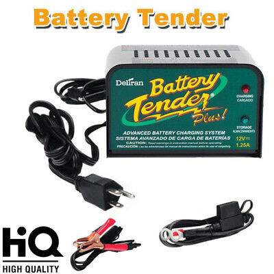 Deltran Battery Tender Plus 12V 1.25A 021-0128 Boat Lawn Tractor Battery Charger