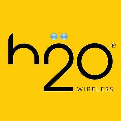 Preloaded H2O Wireless Sim Card with $40 Monthly Plan - First Month Free!