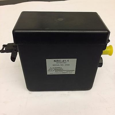 US Military Issue AN/PRC-148 MBITR External Power Supply Battery Box MRC41-1