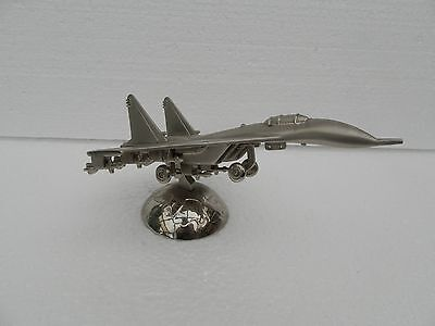 Cast Metal Fighter Jet Paperweight