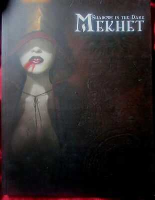 VAMPIRE THE REQUIEM - MEKHET. SHADOWS IN THE DARK Rare Clanbook
