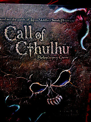 CALL OF CTHULHU D20 CORE RULEBOOK HB Roleplaying Game RPG OOP RARE