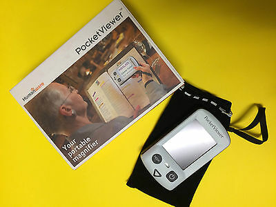 Pocket Viewer Electronic Magnifier - Loupe - Lente Elettronica / G79093 / B2