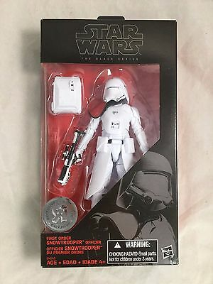Star Wars: The Black Series - First Order Snowtrooper Officer *NEW*