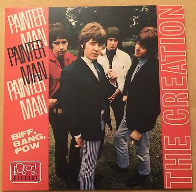 """The Creation 7"""" Planet Records P/S Mod Psych Freakbeat 45 FREE UK P&P"""