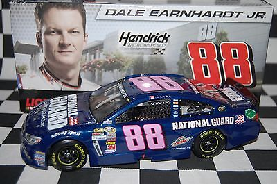 Dale Earnhardt Jr. #88 National Guard Pink Chevy SS 1:24 scale NASCAR Die-Cast