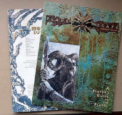 Planescape Campaign Setting Dungeons & Dragons TSR 2600 books only