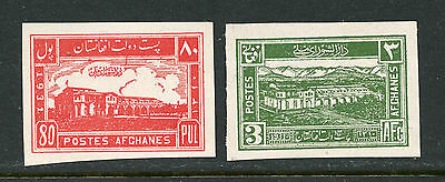 Afghanistan 1932 Issue Proofs #265, 268