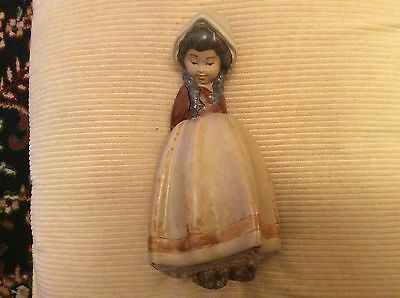 Lladro Very Early Figurine LONELY 2076 Vgc 1970,s