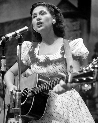 Country Singer KITTY WELLS Glossy 8x10 Photo Music Print Grand Ole Opry Poster