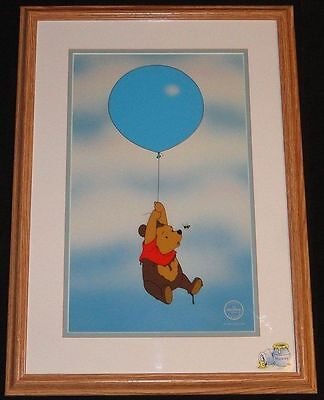 Walt Disney Sericel Animation Art Winnie The Pooh Silly Old Bear Limited To 5000