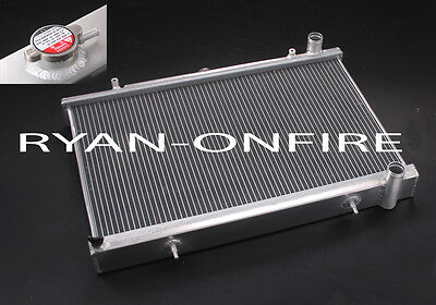 Nissan S13 1.8 turbo CA18 200SX 45mm 2 row Dual Core Performance Alloy Radiator